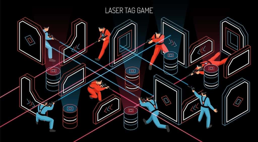 laser tag game tactics