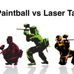 Outdoor Laser Tag vs. Paintball: Which is for your next battles?