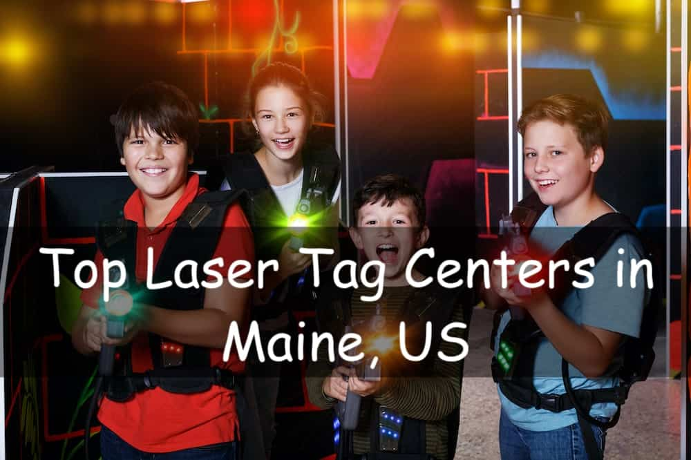 laser tag in maine