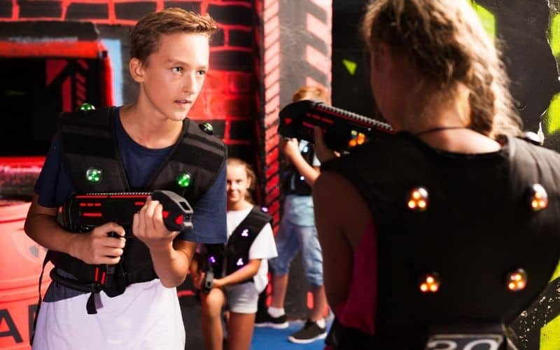 laser tag centers in Kennewick WA